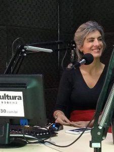 Rádio Cultura de Curitiba – Programa Cultura Revista Entrevista com Carla Regina Françoia