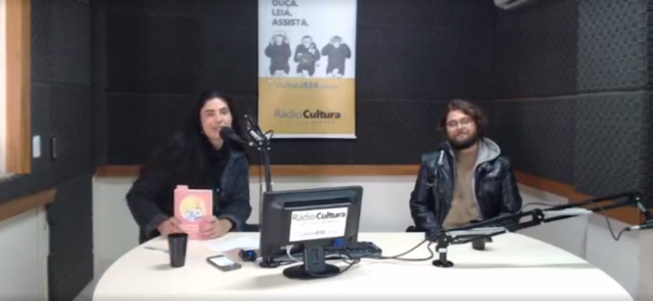Rádio Cultura de Curitiba – Programa Cultura Revista Entrevista com Gelberton Vieira Rodrigues