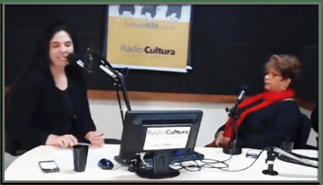 Rádio Cultura de Curitiba – Programa Cultura Revista Entrevista com Patrizia Corsetto